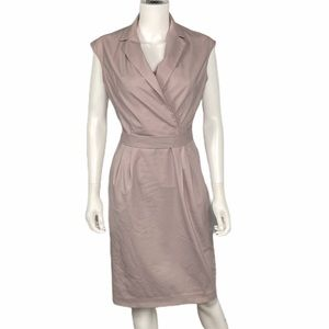 MM. Lafleur Khaki Tan Dress Size 10